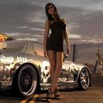 بنات سباق سيارات نيد فور سبيد 2012 / need for speed world jeux