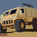 الاسلحة البرية و الدبابات في لعبة أبطال الوطن / Al3ab Rage of Storms