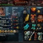 الاسلحة و التجهيزات في لعبة تنوس/ Tanoth game arabic
